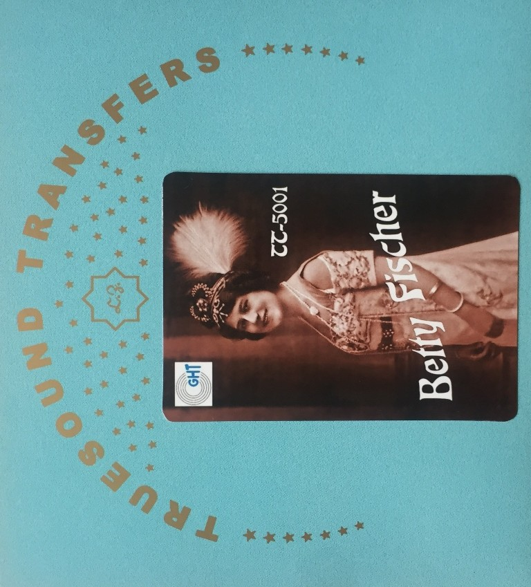 The Truesound Transfers album of Betty Fischer.