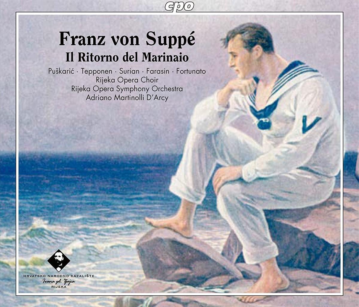 """Suppé's Romantic opera """"Il Ritorno del Marinaio,"""" recorded in Rijeka. (Photo: cpo)"""