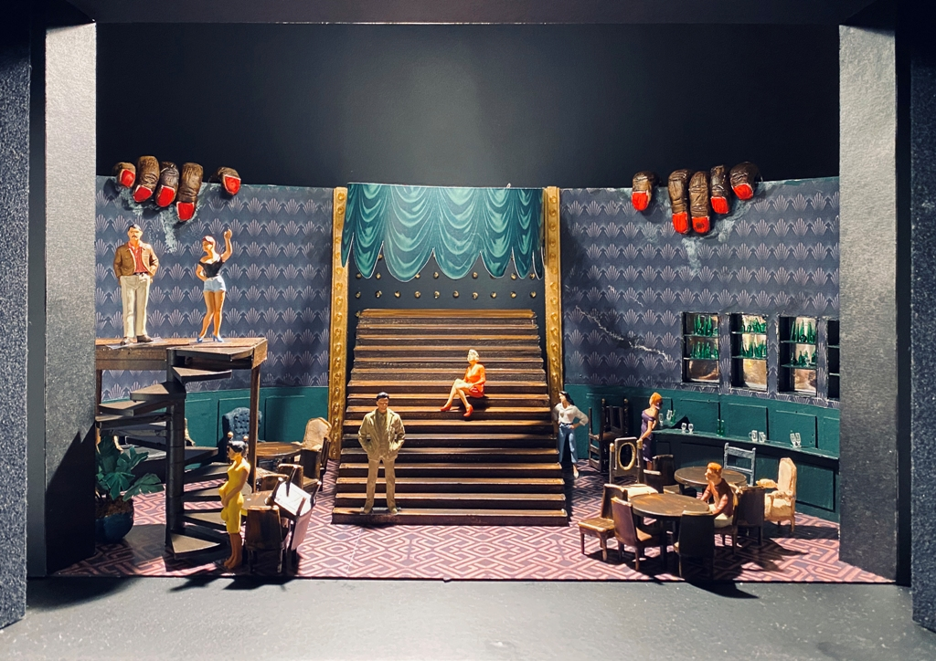 "The ""Zigeunerbaron"" set design for Theater Magdeburg by Pascal Seibicke. (Photo: Pascal Seibicke)"