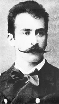 "Lieutenant Felix Falzari, who wrote the libretto for ""Kukuška."""