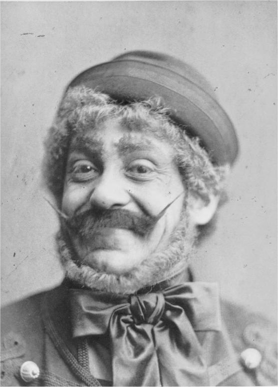 "Alexander Girardi as Kálmán Zsupán in the world premiere production of ""Der Zigeunerbaron,"" 1885."
