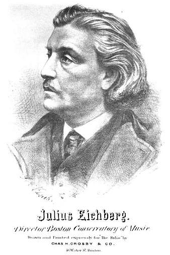 Portrait of composer Julius Eichberg, by G.A. Klucken.