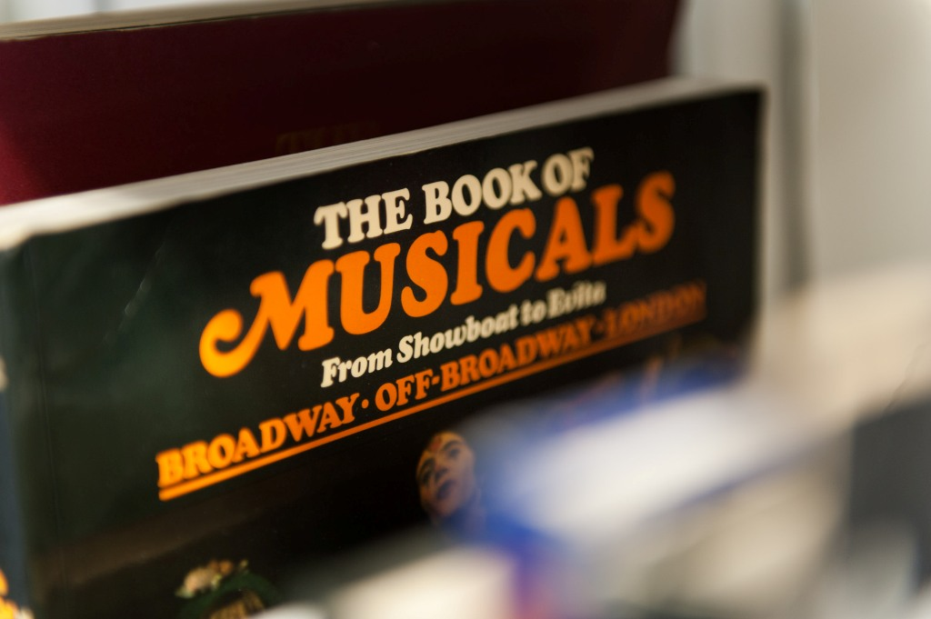 """The Book of Musicals"": The inside of the ""Zentrum für Populäre Kultur und Musik"" in Freiburg. (Photo: Ralf Rühmeier for the magazine ""Musicals"")"
