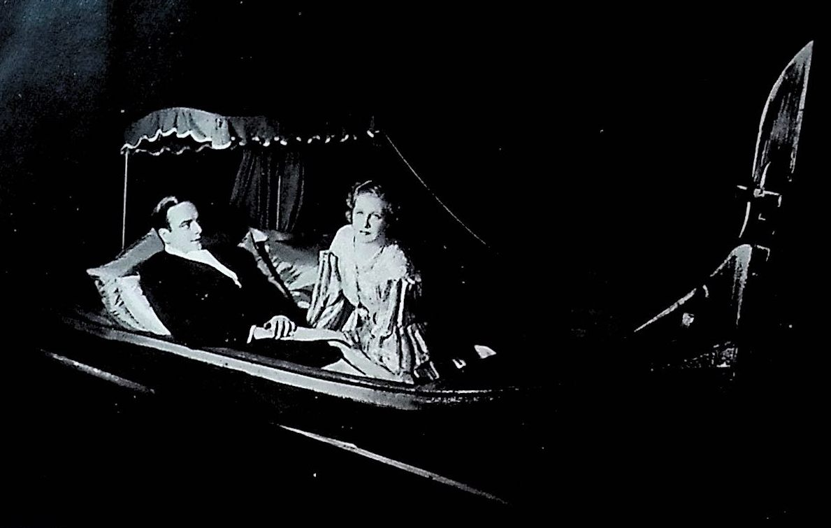 "The gondola scene in ""Ball at the Savoy"" in London, 1933. (Photo: Thomas Krebs Archive)"