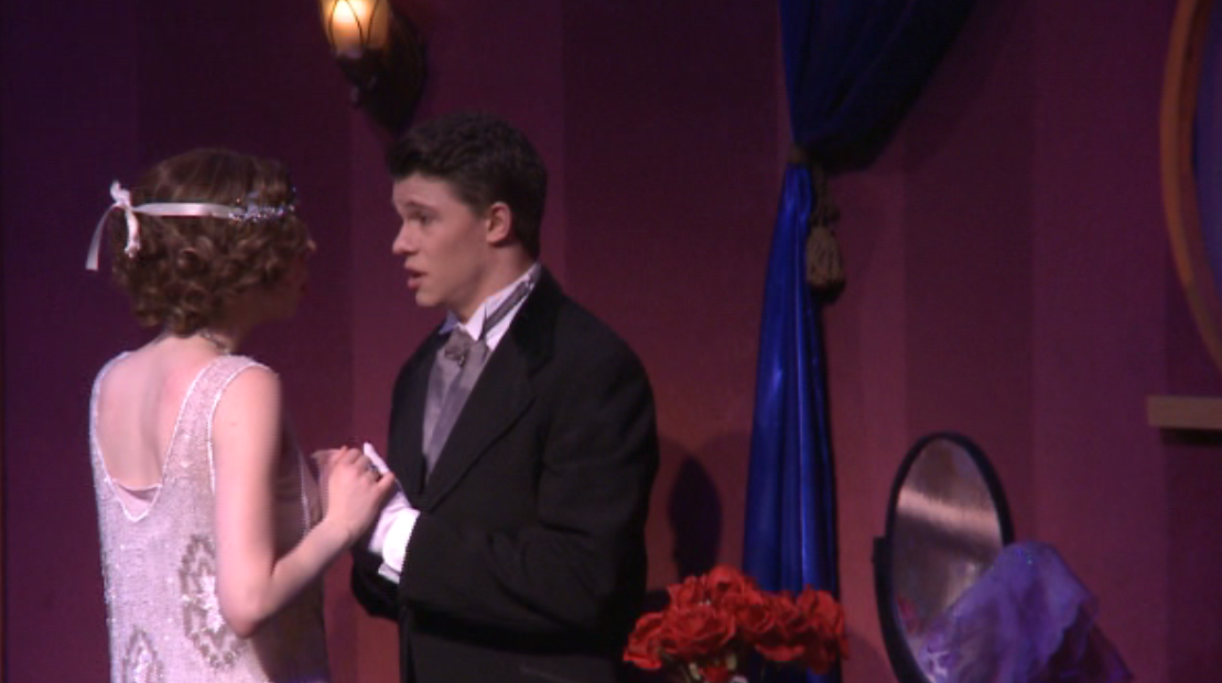 Benjamin Dutton as Maxime with Caitlin Ruddy as Cloclo in 2018. (Photo: Ohio Light Opera / Screenshot)