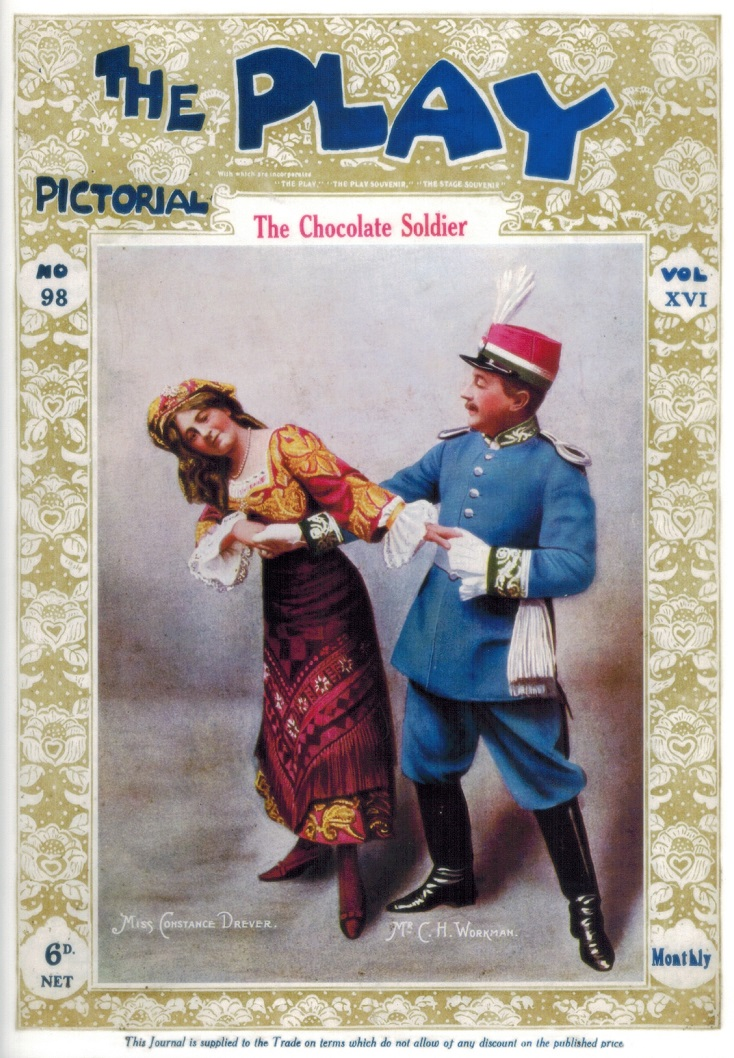 "The Paleophonics cast album of Oscar Straus' ""The Chocolate Soldier."""