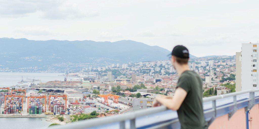 Overlooking present-day Rijeka. (Photo: Filip Boatic / Unsplash)
