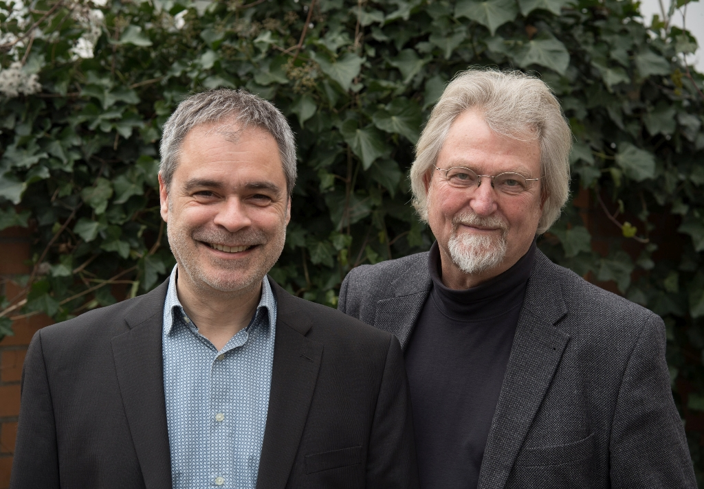 Michael Fischer (l.) and Wolfgang Jansen. (Photo: Ralf Rühmeier, Berlin)
