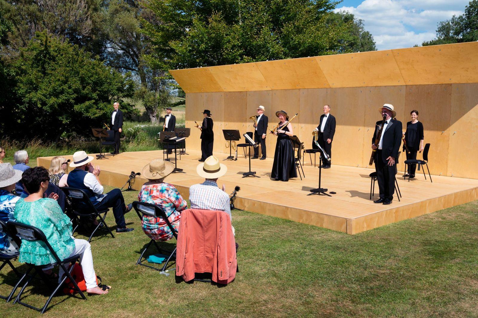 The Corona concert stage at Glyndebourne. (Photo: Glyndebourne Festival)
