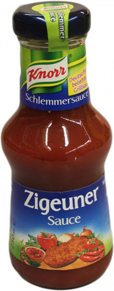 "Knorr's ""Zigeunersauce"" before the re-naming, as shown an Amazon. (Photo: Amazon.de)"