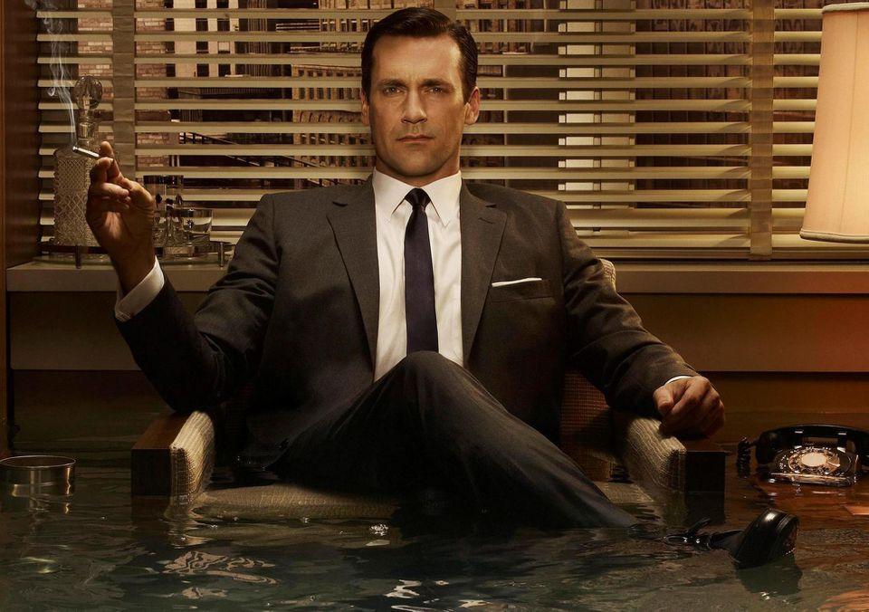 "Jon Hamm in the successful TV series ""Mad Men."" (Photo: Courtesy of AMC)"