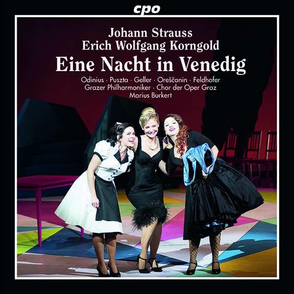 """The cast album """"Eine Nacht in Venedig"""" from Oper Graz. (Photo: cpo)"""