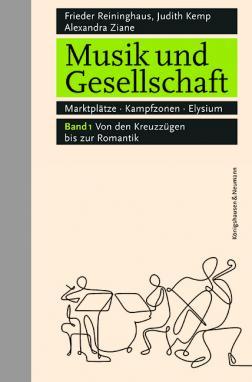 """Band 1 von """"Musik und Gesellschaft"""". (Foto: Königshausen & Neumann Verlag)"""