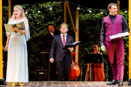 "A Semi-Staged ""Camelot"" At The Watermill Theatre"