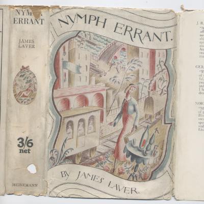 """James Laver's novel """"Nymph Errant."""""""