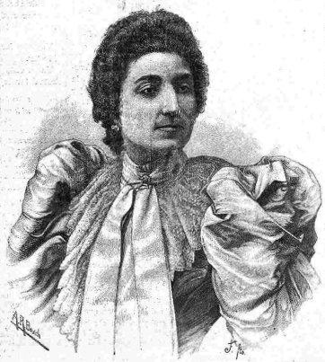 Spanish diva Lucrecia Arana.