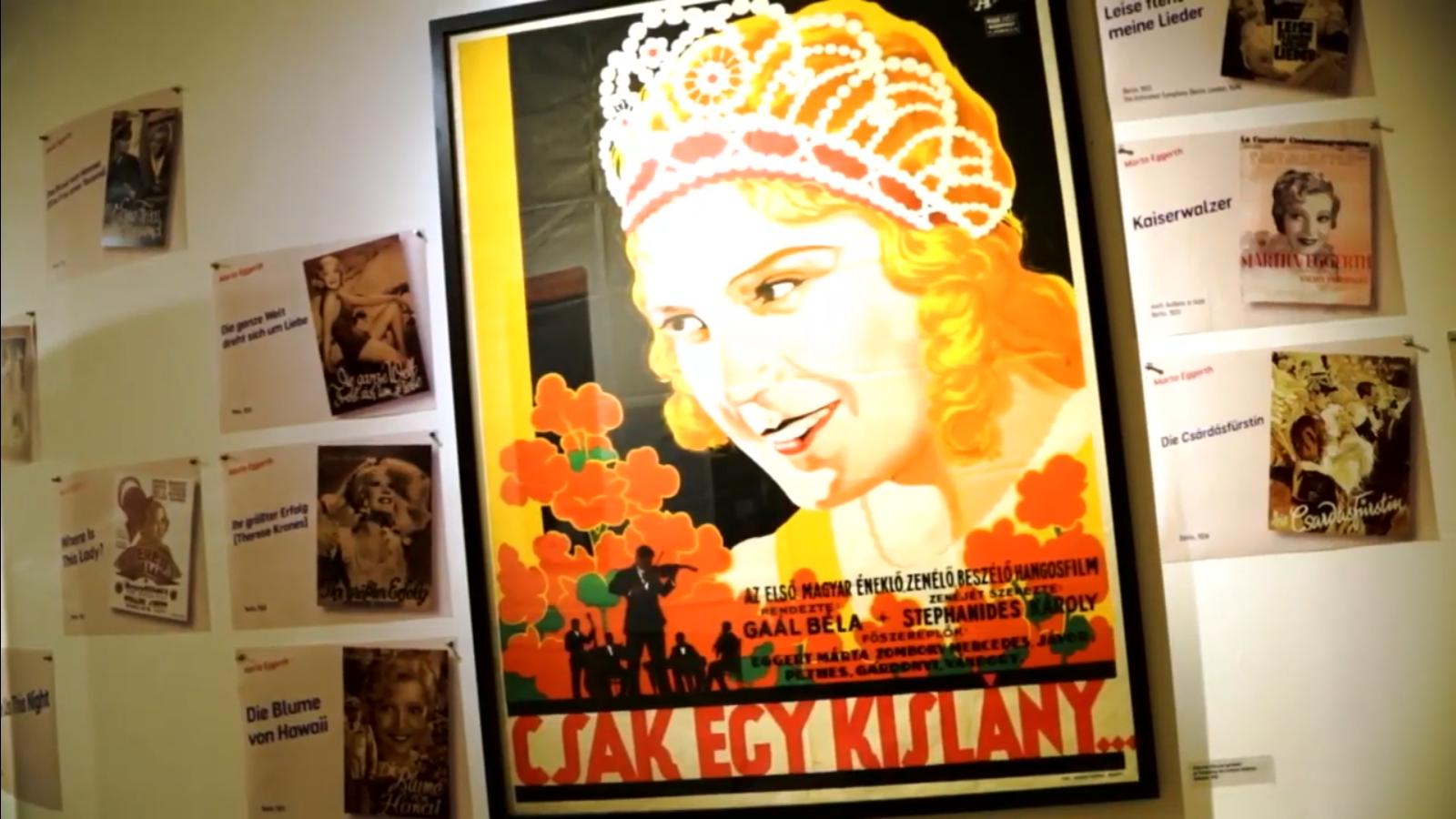The new exhibition on Marta Eggerth and Jan Kiepura in Vienna. (Photo: Screenshot)