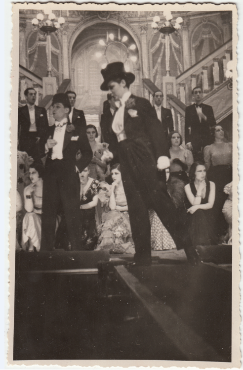"Celia Gámezin Paul Abrahams ""El baile del Savoy"", around 1934.  (Photo: Ignacio Jassa Haro Collection)"