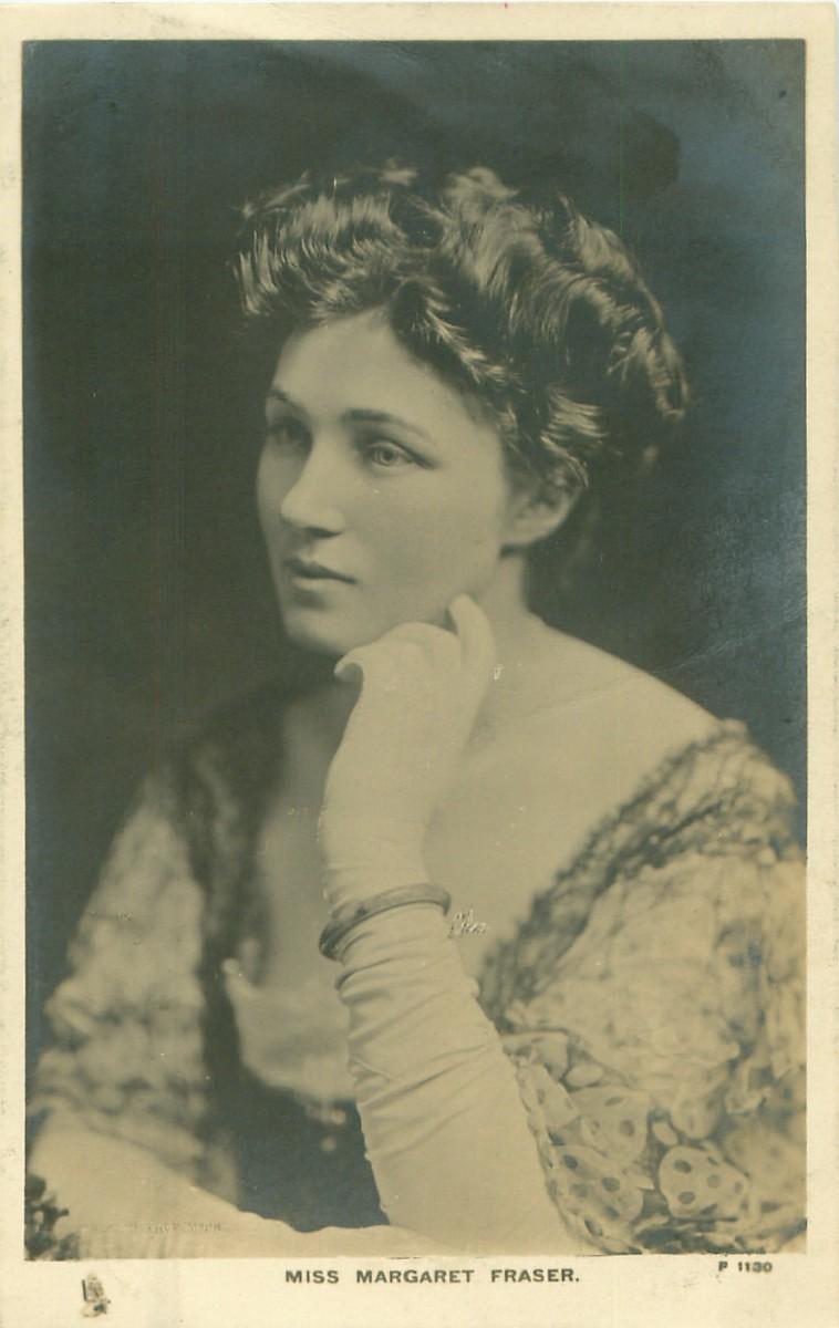 Margaret Fraser in 1906.