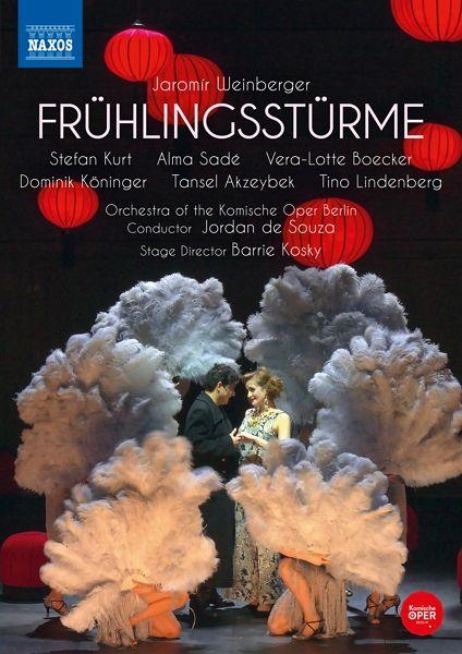 """The DVD release of Jaromir Weinberger's 1933 operetta """"Frühlingsstürme."""" (Photo: Naxos)"""