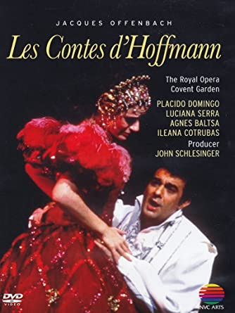 "The DVD of Prêtre's 1981 performance of ""Tales of Hoffmann"" at Covent Garden, with Placido Domingo in the title role."