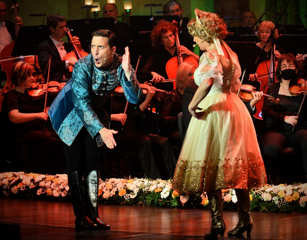 """A scene from the concert """"Salute to Vienna and Budapest."""" (Photo: Vera Éder - BRAAAVI Performing Arts Group)"""