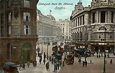 The Gaiety Theatre in London, 1905.