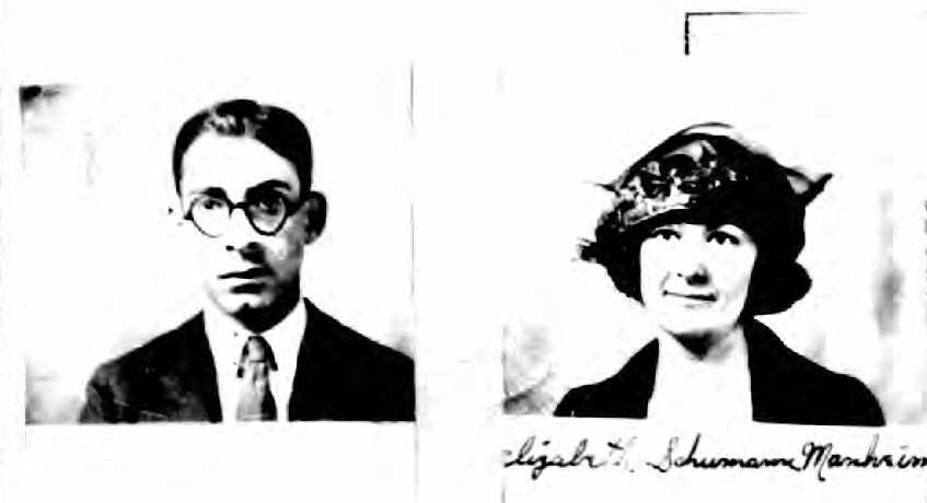 Samuel William Manheim and his wife. (Photo: Kurt Gänzl Archive)
