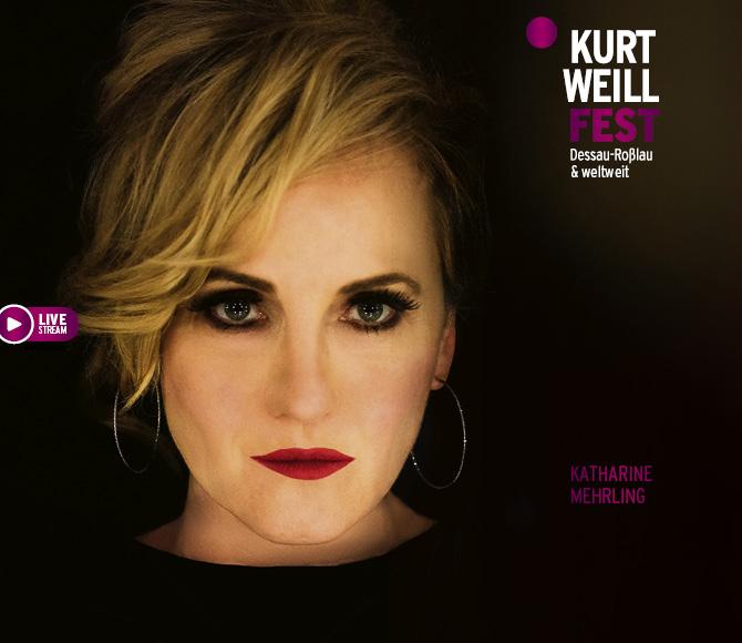 The Katharine Mehrling concert from the Kurt Weill Fest in Dessau. (Photo: Kurt Weill Fest)