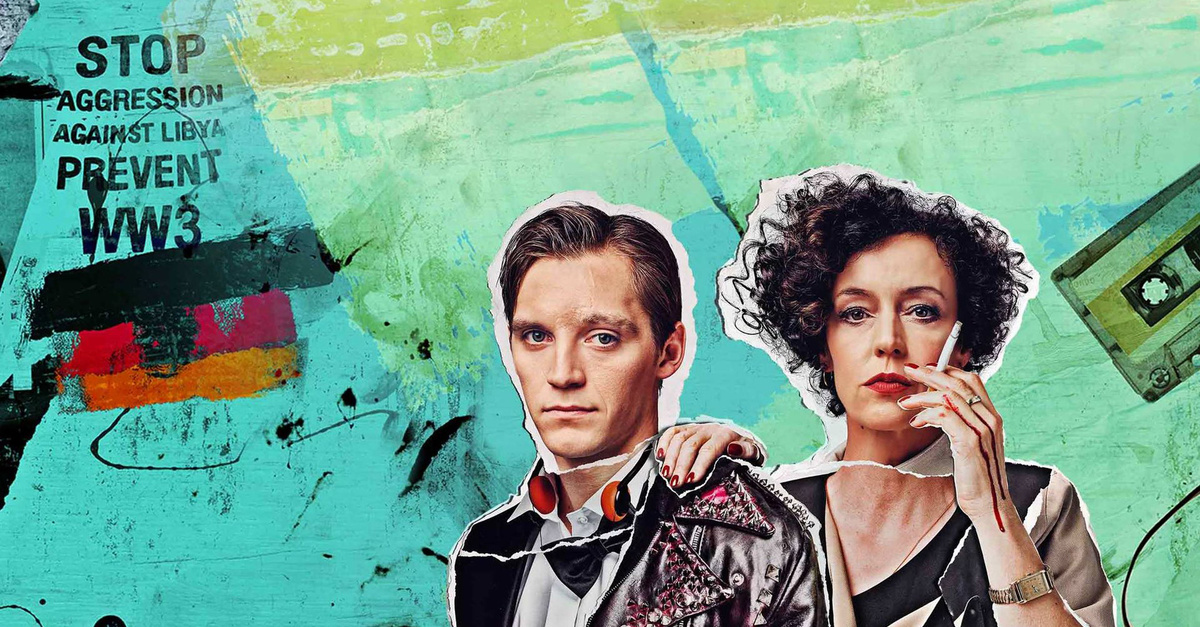 "The successful series ""Deutschland 83"" about the collaps of the DDR and life behin the Iron Curtain in East-Germany, with Jonas Nay and Maria Schrader in leading roles. (Photo: Amazon Prime)"