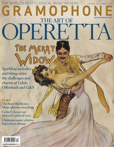 """Like Emma Kirkby Singing Wagner: """"The Art Of Operetta"""" As A """"Gramophone"""" December Special"""