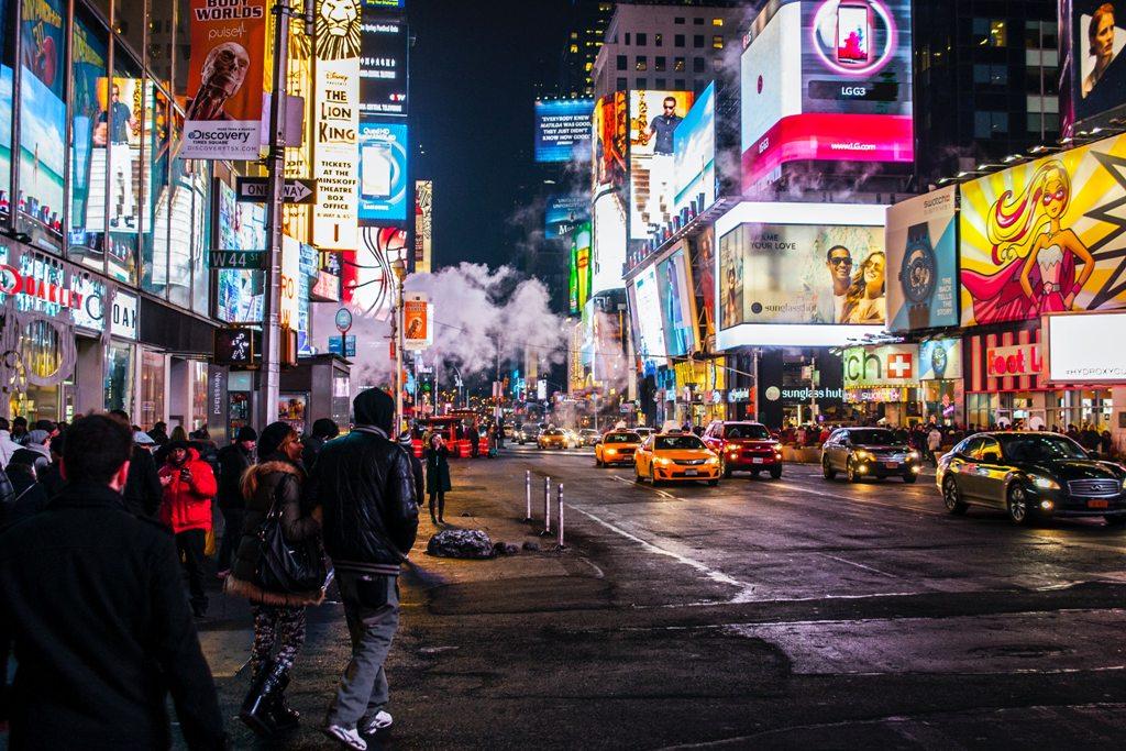 A look at Broadway before the 2020 Corona lockdown. (Photo: Nicolai Berntsen / Unsplash)
