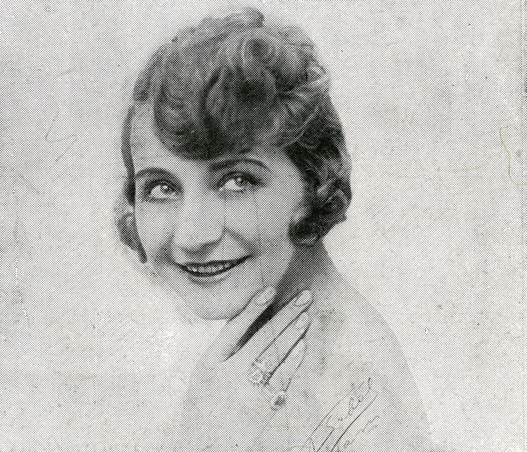 "Renée Duler as seen in the original 1926 program of ""Passionnément!"" (Photo: Rubén Sobol)"