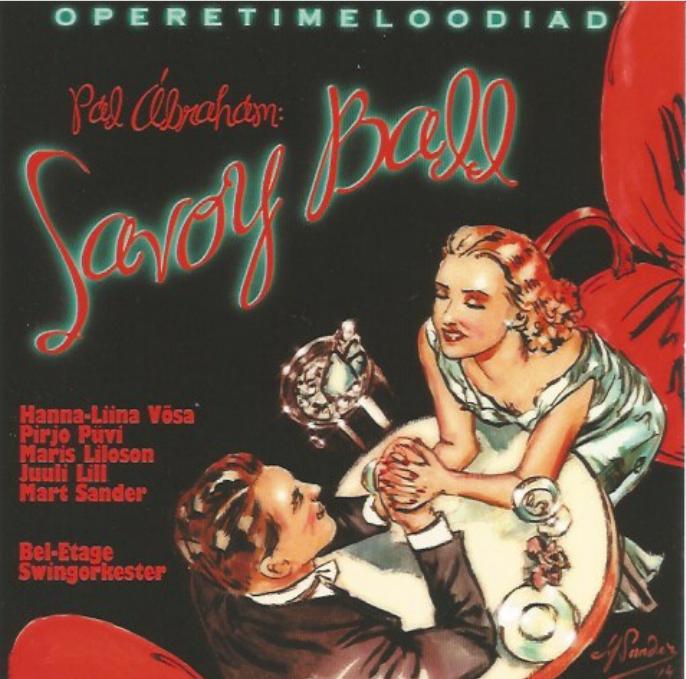 "The ""Ball im Savoy"" CD by the Bel-Etage Swingorkester."