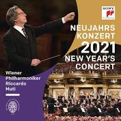 The CD version of the 2021 New Year's Concert from Vienna. (Photo: Sony)