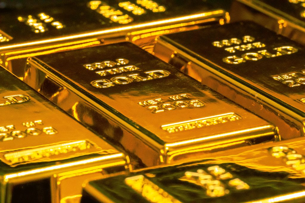 Gold bars representing the high value of that metal. (Photo: Jingming Pan / Unsplash)
