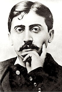 Novelist Marcel Proust, Hahn's lover and lifelong friend.