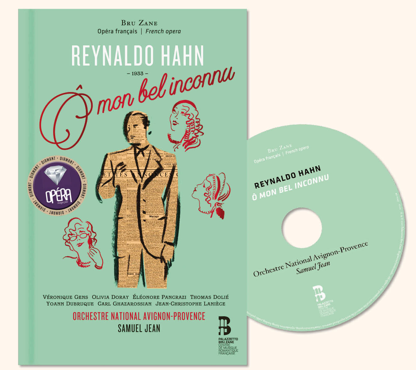 """The new release of Hahn's """"Ô mon bel inconnu."""" (Photo: Palazzetto BruZane)"""