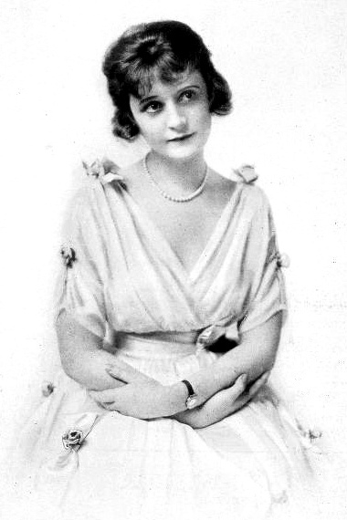 """Blillie Burke in 1916. She married Florenz Ziegfeld and was to play the good Witch Glinda in the 1939 MGM movie """"The Wizard of Oz."""" (Photo: The Photo-Play Journal)"""