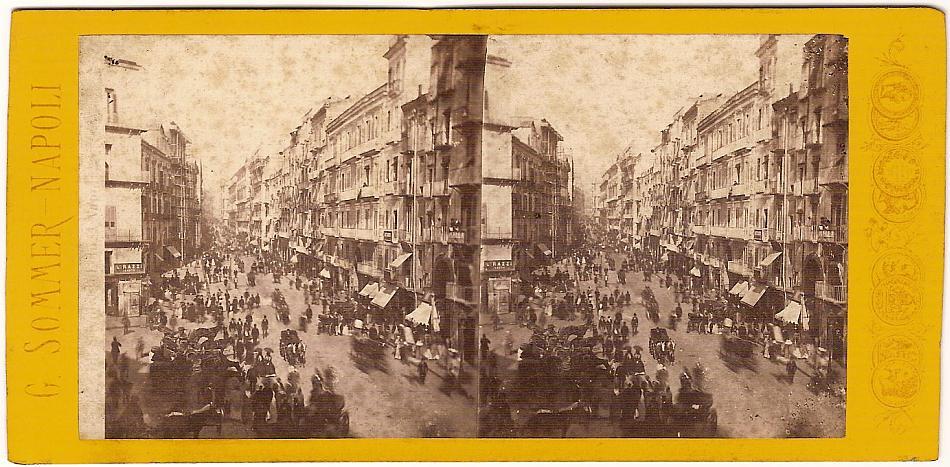 Die Stadt Neapel um 1870. (Foto: Giorgio Sommer)