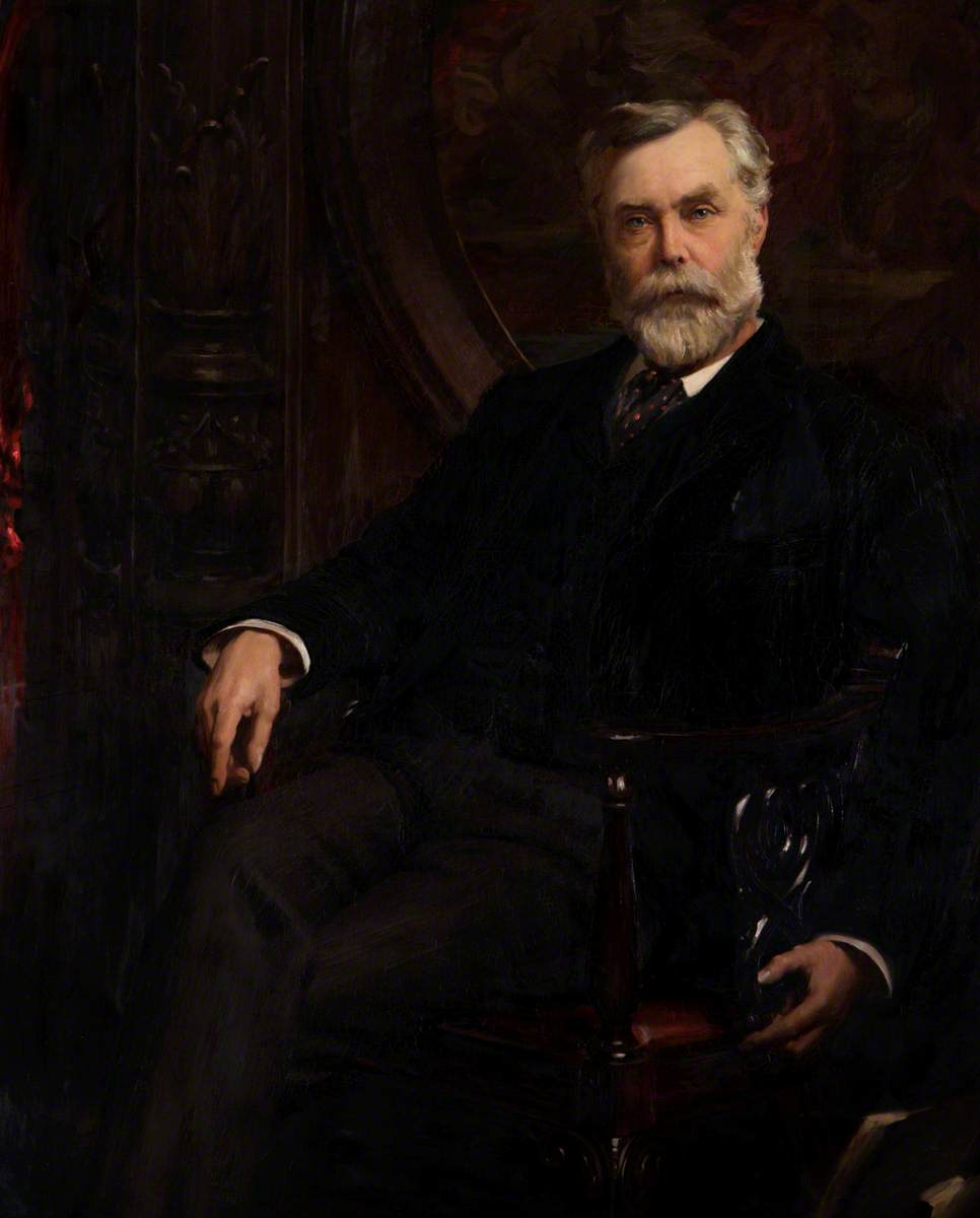 Industrialist John Bullough. (Photo: Scottish Natural Heritage)