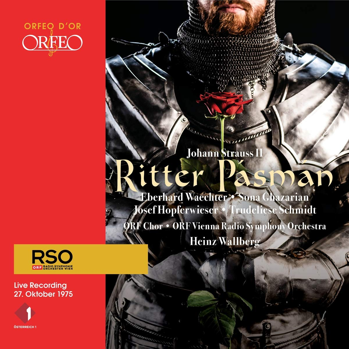 """The CD cover of """"Ritter Pásmán"""" with Eberhard Wächter in the title role. (Photo: Orfeo)"""