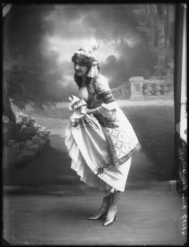 """Constance Drever as Nadina in """"The Chocolate Soldier"""" in 1910. (Photo: Bassano Ltd / National Portrait Gallery, London)"""