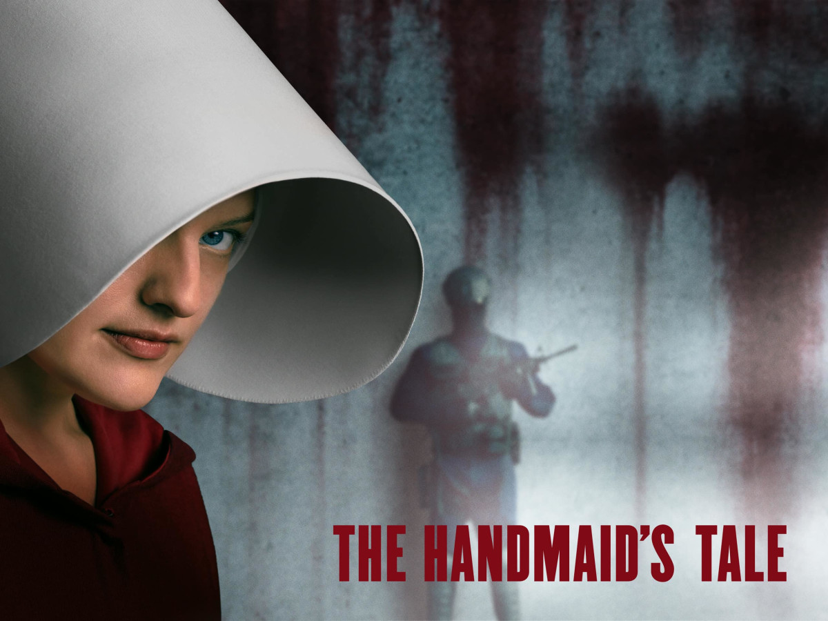 """The new TV version of """"The Handmaid's Tale"""" starring Elisabeth Moss as Offred. (Photo: Amazon Prime)"""