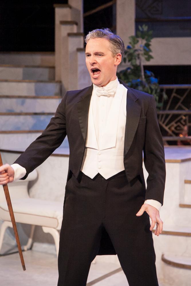 "Gerald Frantzen as Aristide in ""Ball at the Savoy."" (Photo: Chicago Folks Operetta)"