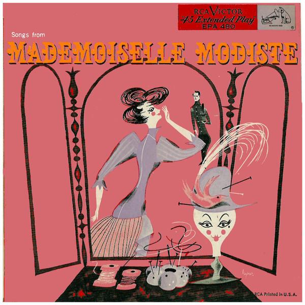"The original RCA release of Victor Herbert's ""Mademoiselle Modiste."""