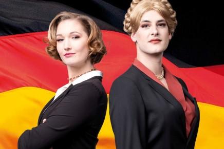 """""""Eine Stimme für Deutschland"""": Grüne Fotze vs. genderfluide AfD-Kandidatin"""