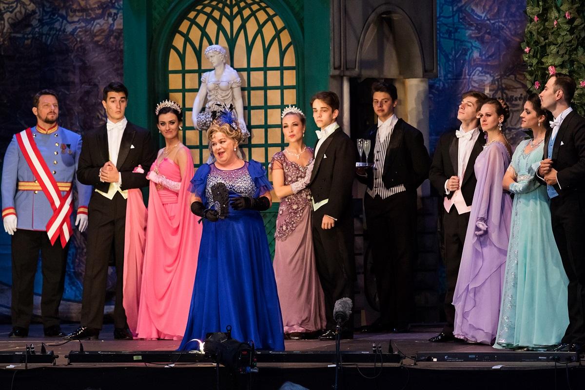 "Oszwald ""Sissi, Queen of Hungary,"" 2021. (Photo: Monarchia Operett)"