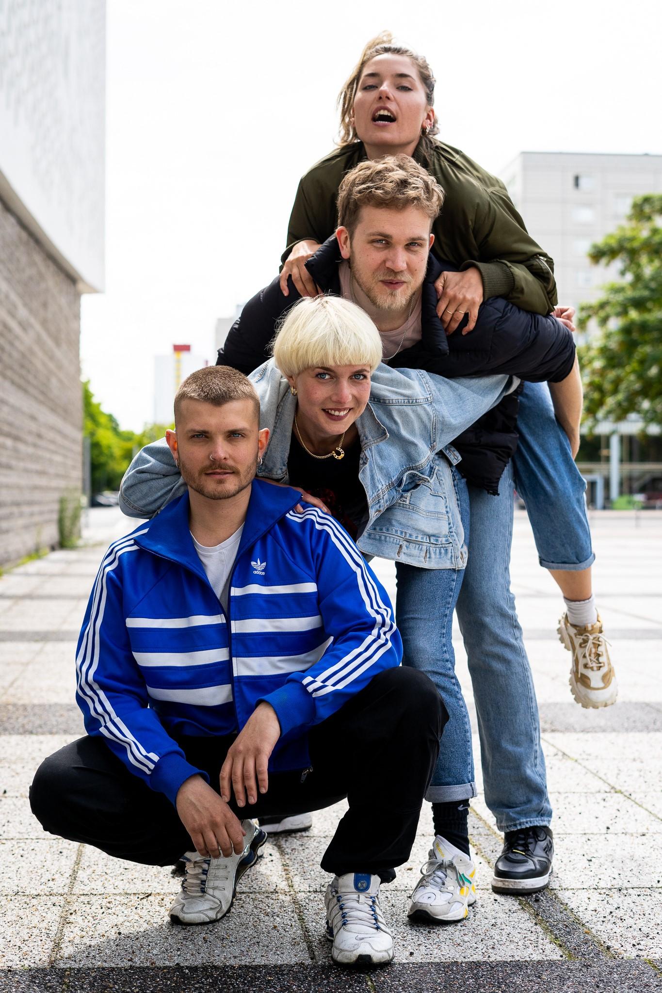 The tutti d*amore team. (Photo: Nicola Fegg / tutti d*amore)
