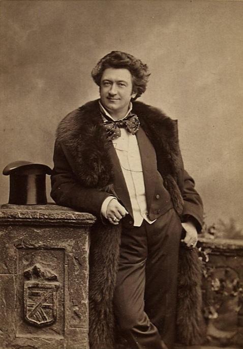 A portrait of Felix Schweighofer from 1895. (Photo: Rudolf Krziwanek / Theatermuseum Wien)